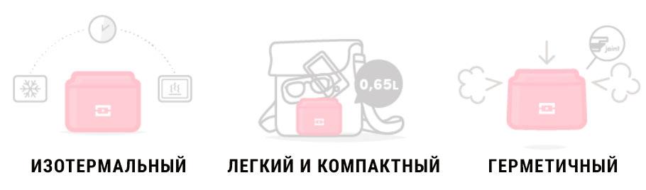 Изотермальный контейнер для еды Monbento MB Element