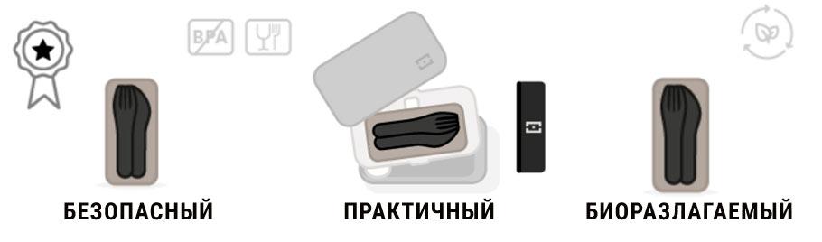 Набор столовых приборов Monbento MB Pocket Color