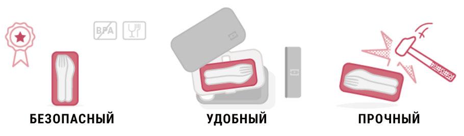 Набор столовых приборов Monbento MB Pocket