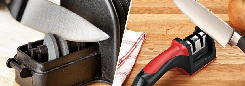 Технология заточки точилок Chef's Choice