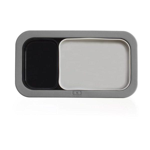 Форма для выпечки под ланч-бокс MB Original серая+черная, 1009 00 001, Monbento