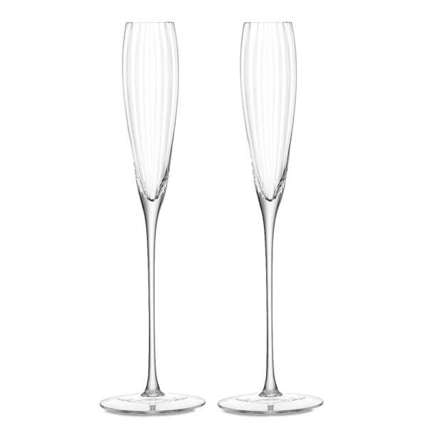 Набор из 2-х фужеров для шампанского Aurelia 165 мл, G874-06-776, LSA International
