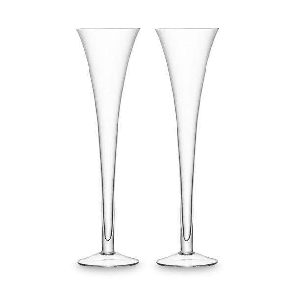 Набор из 2-х бокалов для шампанского Bar 225 мл, G302-08-991, LSA International