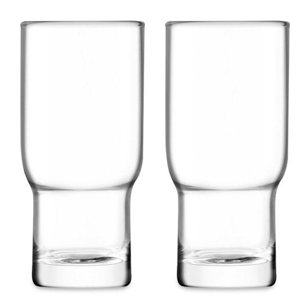 Набор из 2-х стаканов для коктейлей Highball Utility 390 мл, G1323-14-301A, LSA International