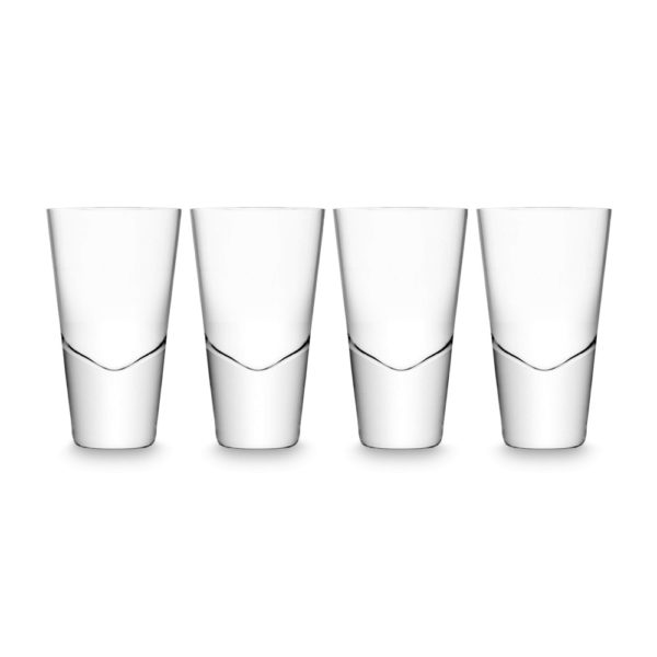 Набор из 4-х стопок для водки Bar 100 мл, G311-04-991, LSA International