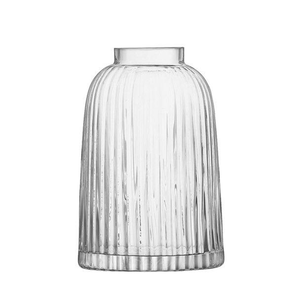 Стеклянная ваза Pleat 20 см, G1399-20-301, LSA International