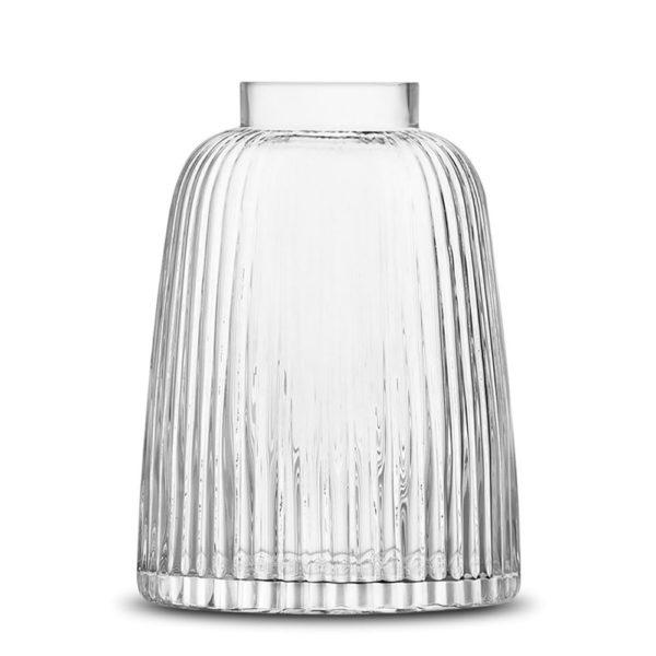 Стеклянная ваза Pleat 26 см, G1399-26-301, LSA International