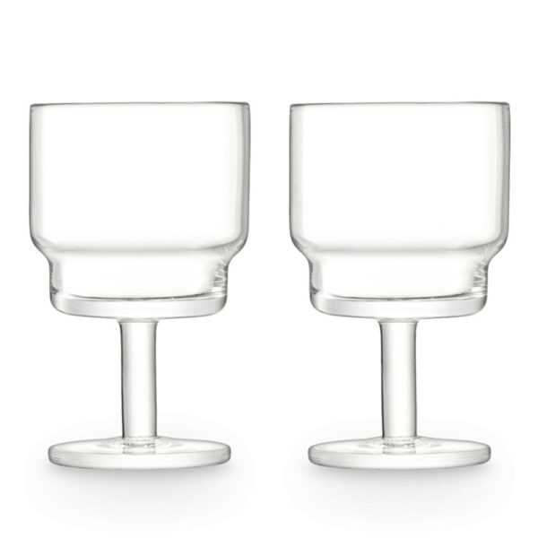 Набор из 2-х бокалов для вина Utility 220 мл, G1547-08-301, LSA International