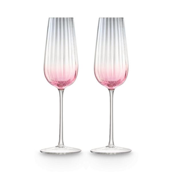 Набор из 2-х стеклянных бокалов для шампанского Dusk 250 мл, G1332-09-152, LSA International
