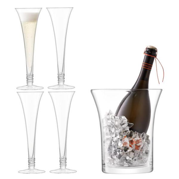 Набор для сервировки шампанского Prosecco, G1335-00-301, LSA International