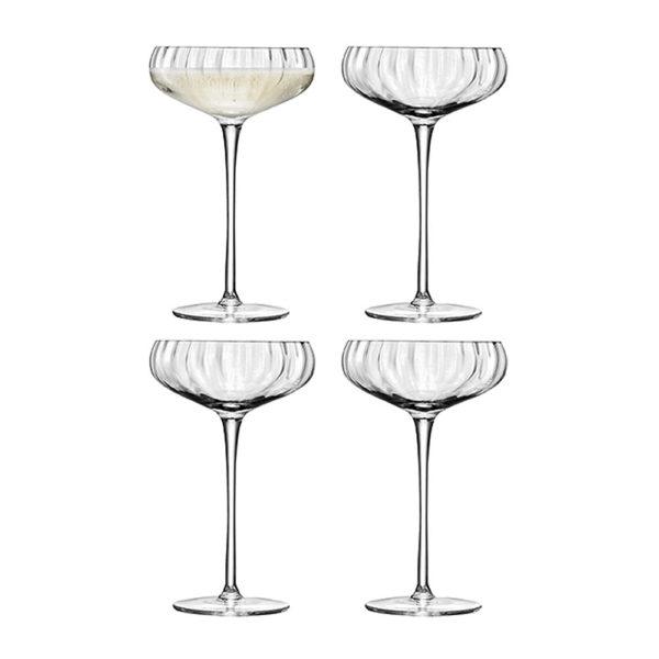 Набор из 4-х фужеров для шампанского Aurelia 300 мл, G730-11-776, LSA International