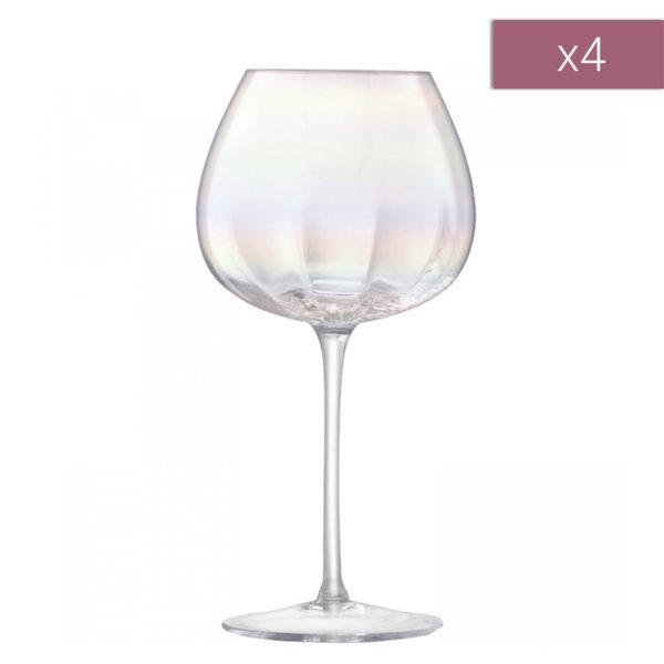 Набор из 4-х бокалов для красного вина Pearl 460 мл, G1332-16-401, LSA International