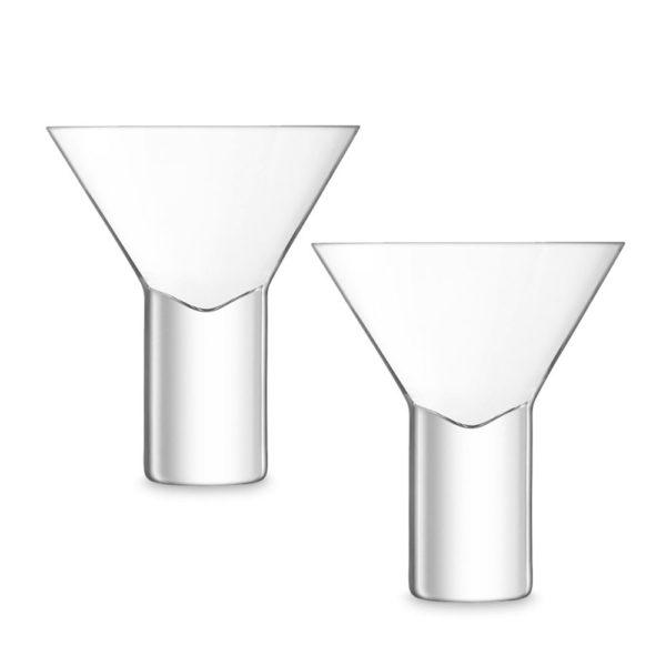 Набор из 2-х стеклянных стаканов для коктейлей Vodka 400 мл, G1636-09-301, LSA International