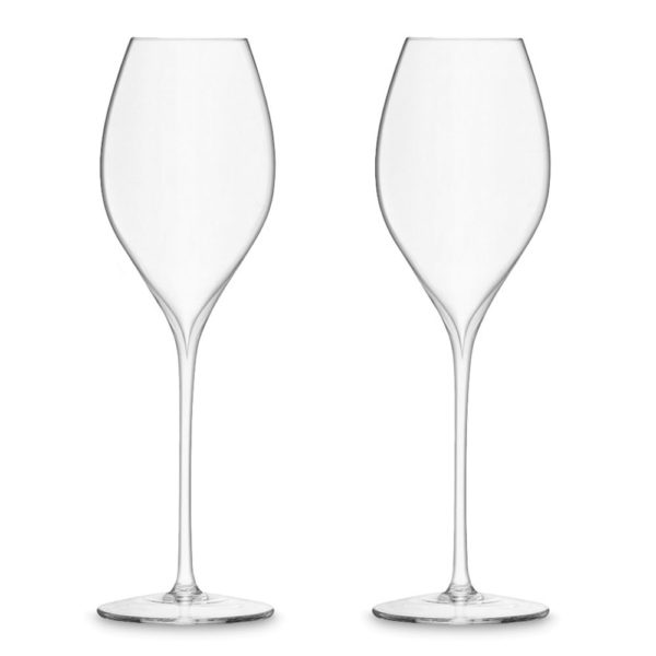 Набор из 2-х бокалов для шампанского Prosecco Wine 370 мл, G1530-13-991, LSA International