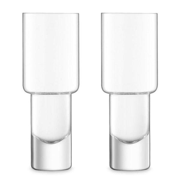 Набор из 2-х стеклянных стаканов для коктейлей Vodka 400 мл, G1635-14-301, LSA International
