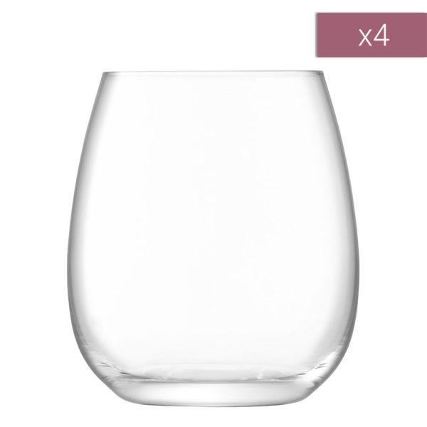 Набор из 4-х стаканов Borough 455 мл, G1621-16-301, LSA International
