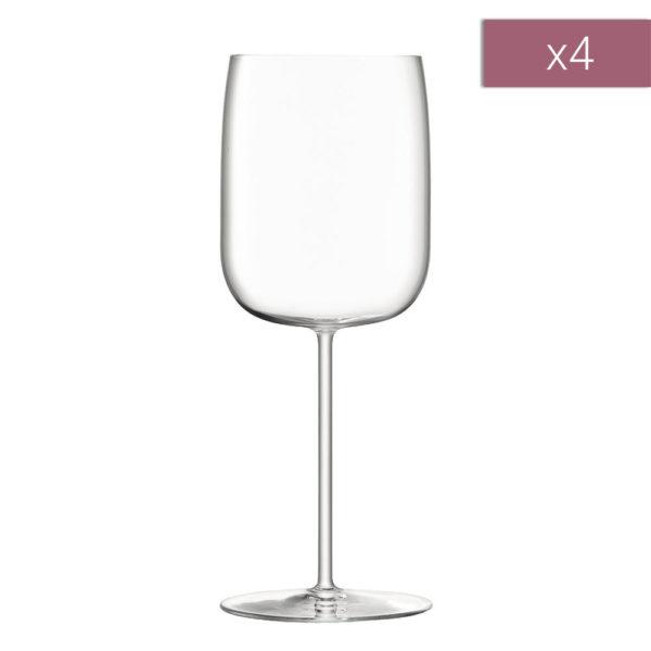 Набор из 4-х бокалов для белого вина Borough 380 мл, G1620-14-301, LSA International