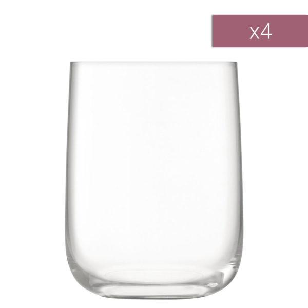 Набор из 4-х стеклянных стаканов Borough 625 мл, G1617-22-301, LSA International