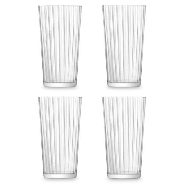 Набор из 4-х стеклянных стаканов Gio Line 320 мл, G059-11-304, LSA International