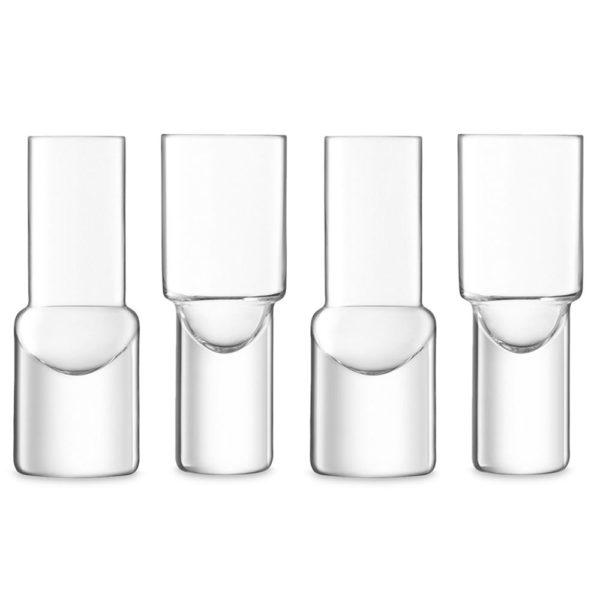 Набор из 4-х стеклянных стопок Vodka 50 мл, G1635-04-301, LSA International