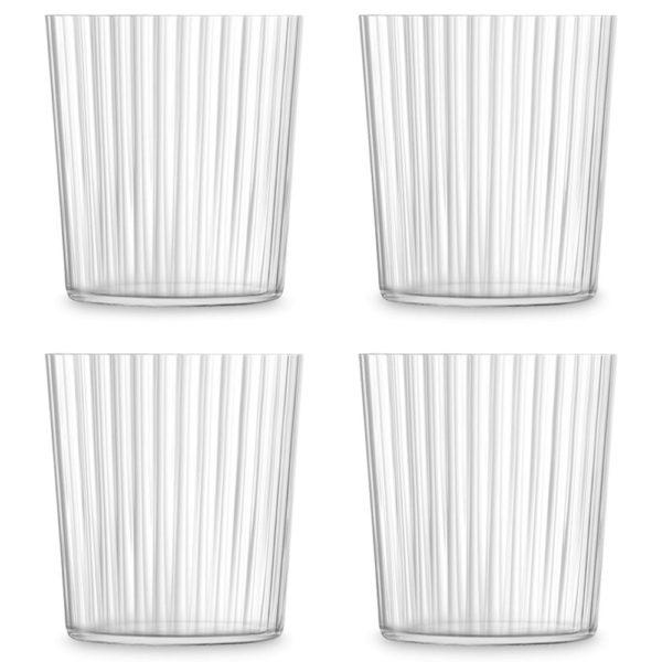 Набор из 4-х стеклянных стаканов Gio Line 390 мл, G060-13-304, LSA International