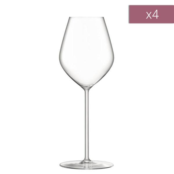 Набор из 4-х бокалов для шампанского Borough 285 мл, G1620-10-301, LSA International