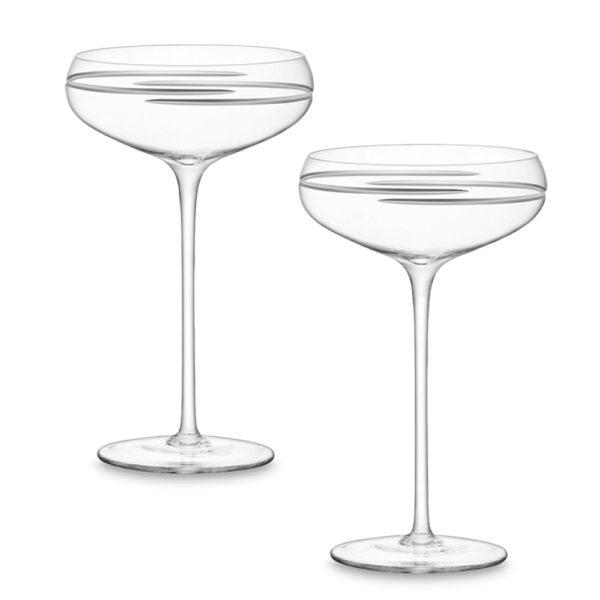 Набор из 2-х бокалов для шампанского Signature Verso 300 мл, G730-11-408, LSA International