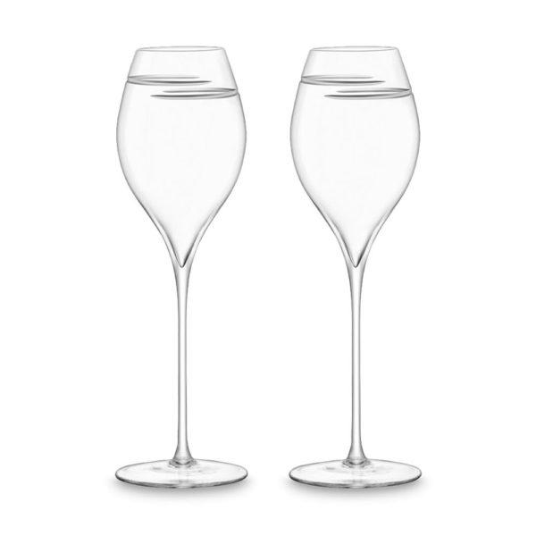 Набор из 2-х бокалов для шампанского Signature Verso Tulip 370 мл, G1530-13-408, LSA International