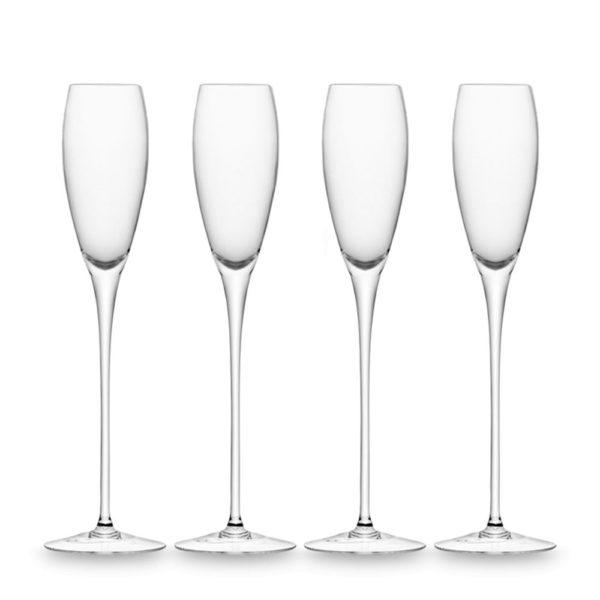 Набор из 4-х стеклянных бокалов для шампанского Wine 160 мл, G279-07-991, LSA International