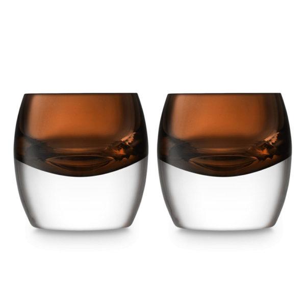 Набор из 2-х стаканов для виски Whisky Club 230 мл, G1532-08-866, LSA International