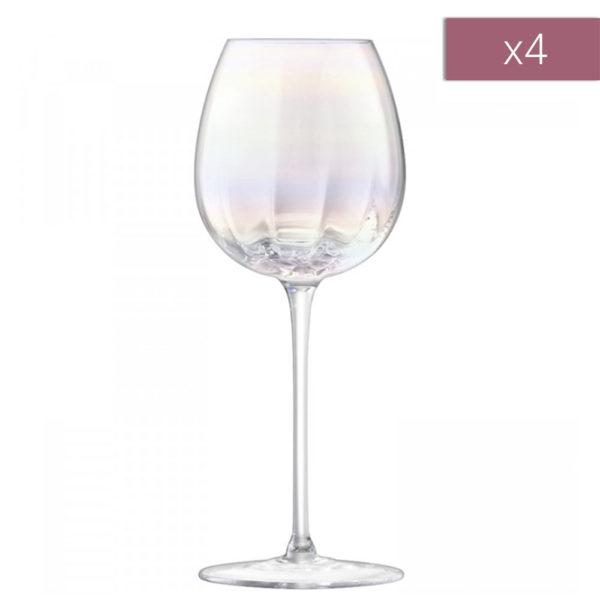 Набор из 4-х бокалов для белого вина Pearl 325 мл, G1332-12-401, LSA International