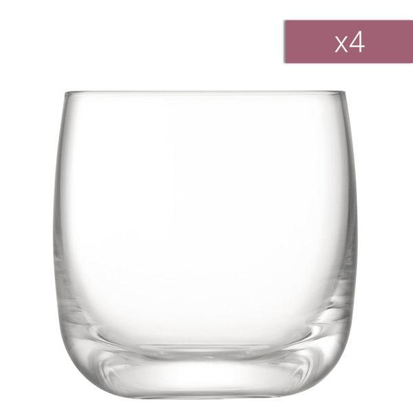 Набор из 4-х стеклянных стаканов Tumbler Borough 300 мл, G1617-11-301, LSA International