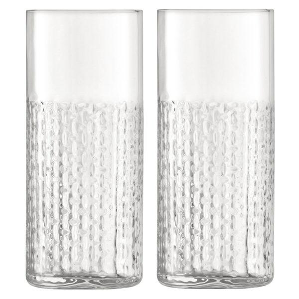 Набор из 2-х стеклянных стаканов Highball Wicker 400 мл, G1641-14-148, LSA International