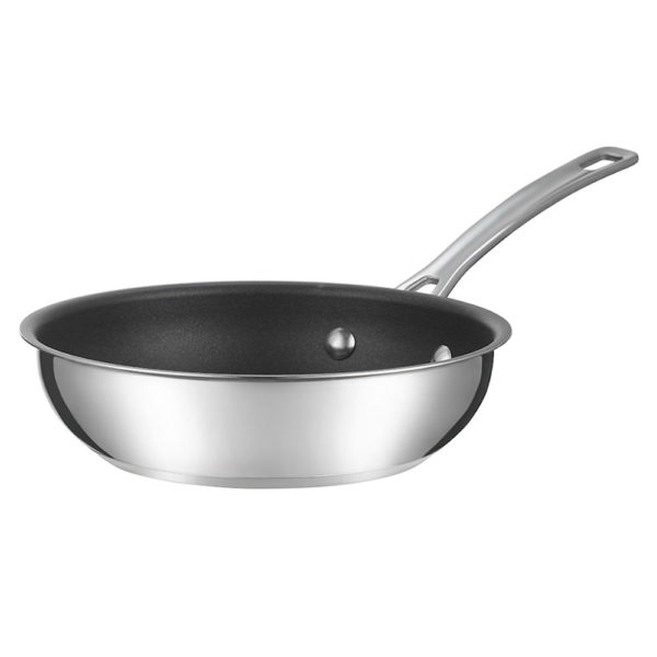 Сковорода 20 см Genesis, нержавеющая сталь с антипригарным покрытием, R77886GC, CIRCULON