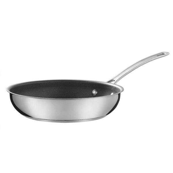 Сковорода 24 см Genesis, нержавеющая сталь с антипригарным покрытием, R77890GC, CIRCULON
