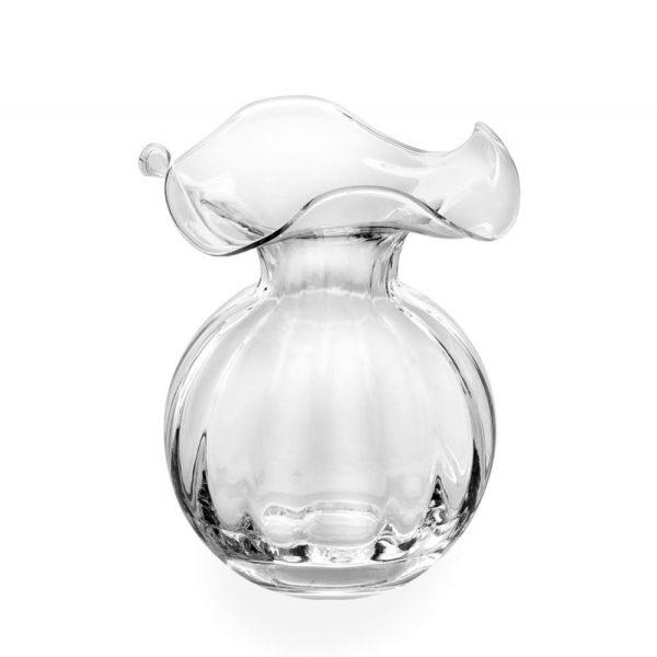Стеклянная ваза для цветов ручной работы Primula 18 см, 556.1, IVV