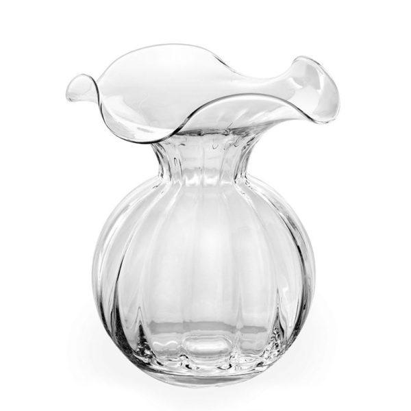 Стеклянная ваза для цветов ручной работы Primula 24 см, 559.1, IVV
