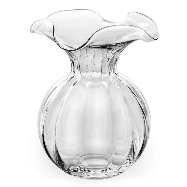 Стеклянная ваза для цветов ручной работы Primula 29 см, 562.1, IVV