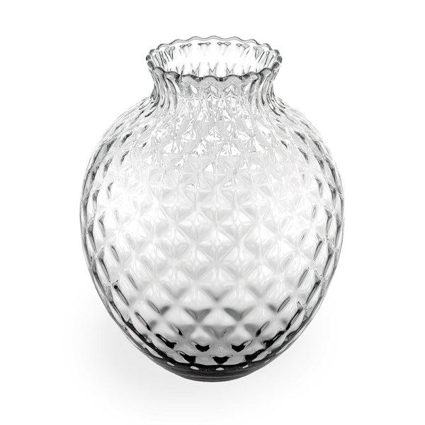 Стеклянная ваза для цветов ручной работы Infiore 28.5 см, 6832.1, IVV
