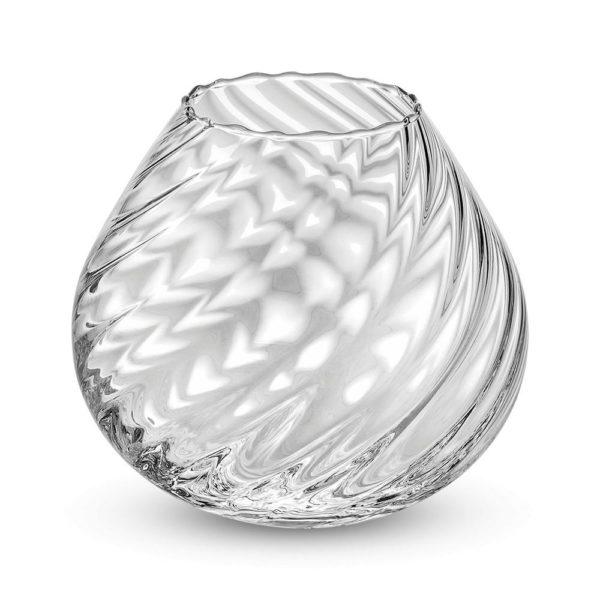 Стеклянная ваза для цветов ручной работы Nuvola 17 см, 7418.1, IVV