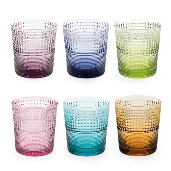 Набор из 6-ти стеклянных стаканов для напитков 280 мл Speedy, 6803.1, IVV