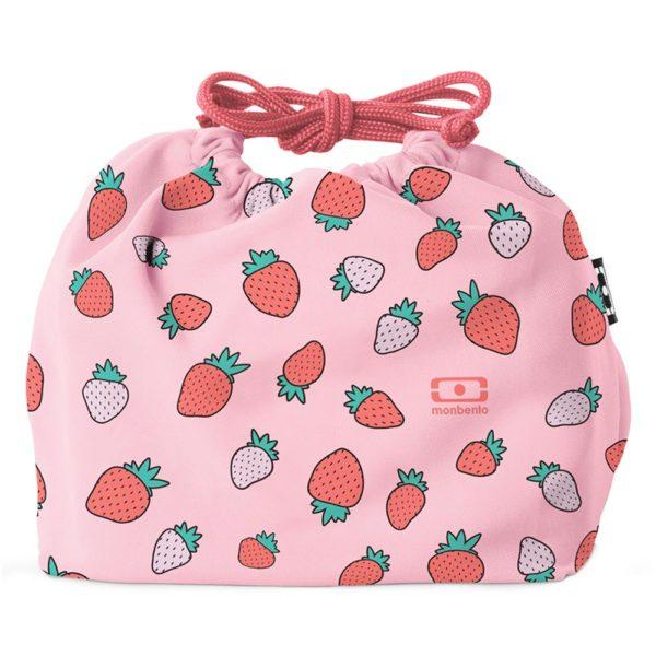 Мешочек для ланча MB Pochette Strawberry, 22184013, Monbento