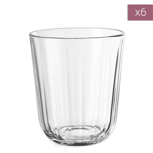 Набор из 6 граненых стаканов 270 мл, 567433, EVA SOLO