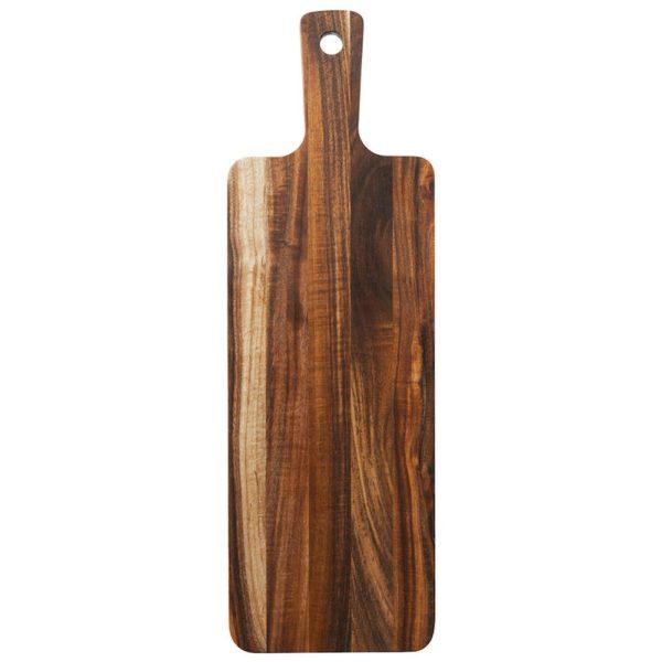 Деревянная разделочная доска 46x15 см, ZY-XS05S, Smart Solutions
