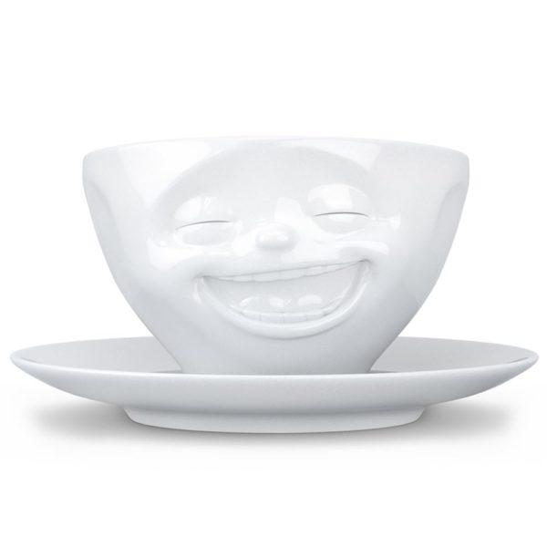 Фарфоровая кофейная пара Laughing 200 мл, T01.47.01, Tassen