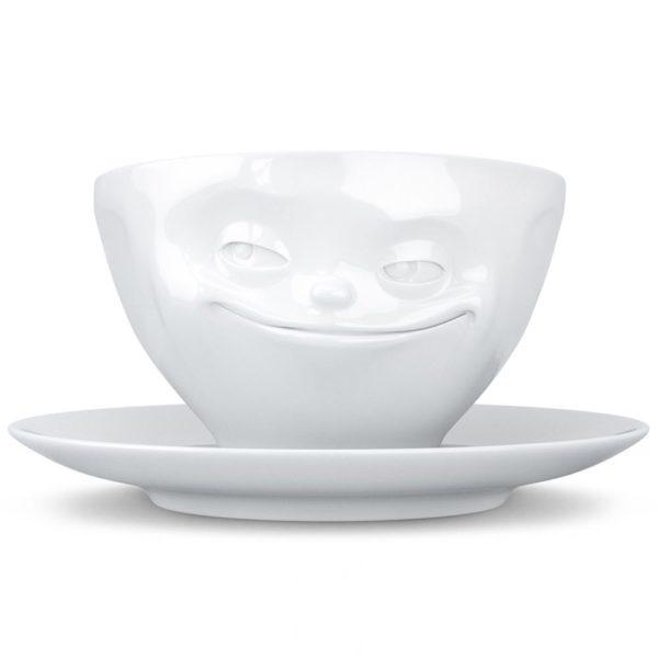 Фарфоровая кофейная пара Grinning 200 мл, T01.41.01, Tassen