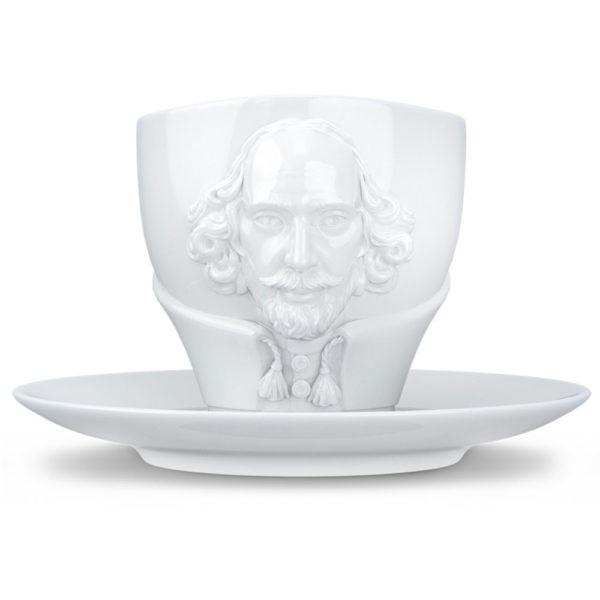 Фарфоровая чайная пара Talent William Shakespeare 260 мл, T80.12.01, Tassen