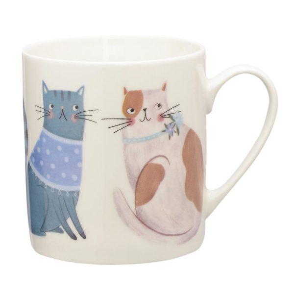 Фарфоровая кружка Cosy Cats 340 мл, P_0059.599BC, Price & Kensington